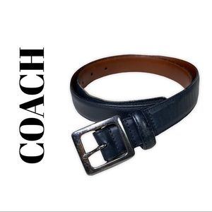 COACH Leather Belt | M